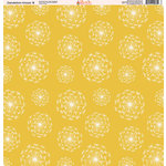 Ella and Viv Paper Company - Dandelion Kisses Collection - 12 x 12 Paper - Eight