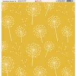 Ella and Viv Paper Company - Dandelion Kisses Collection - 12 x 12 Paper - Ten