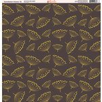 Ella and Viv Paper Company - Dandelion Kisses Collection - 12 x 12 Paper - Twelve