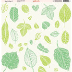 Ella and Viv Paper Company - Earth Day Collection - 12 x 12 Paper - One