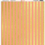Ella and Viv Paper Company - Elegant Coral Collection - 12 x 12 Paper - Three