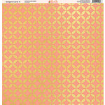 Ella and Viv Paper Company - Elegant Coral Collection - 12 x 12 Paper - Four