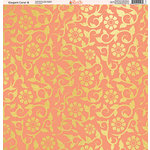 Ella and Viv Paper Company - Elegant Coral Collection - 12 x 12 Paper - Eight