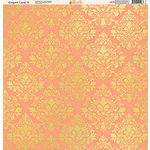 Ella and Viv Paper Company - Elegant Coral Collection - 12 x 12 Paper - Nine