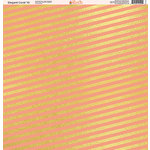 Ella and Viv Paper Company - Elegant Coral Collection - 12 x 12 Paper - Ten