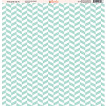 Ella and Viv Paper Company - Fire and Ice Collection - 12 x 12 Paper - Four