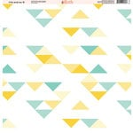 Ella and Viv Paper Company - Fire and Ice Collection - 12 x 12 Paper - Eight