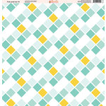 Ella and Viv Paper Company - Fire and Ice Collection - 12 x 12 Paper - Nine