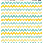 Ella and Viv Paper Company - Fire and Ice Collection - 12 x 12 Paper - Ten