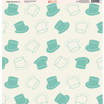 Ella and Viv Paper Company - High Society Collection - 12 x 12 Paper - Six