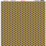 Ella and Viv Paper Company - Honey Bee Collection - 12 x 12 Paper - Four