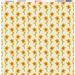 Ella and Viv Paper Company - Honey Bee Collection - 12 x 12 Paper - Six