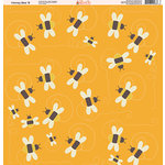 Ella and Viv Paper Company - Honey Bee Collection - 12 x 12 Paper - Eight