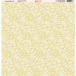 Ella and Viv Paper Company - Honey Bee Collection - 12 x 12 Paper - Twelve