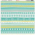 Ella and Viv Paper Company - Modern Safari Collection - 12 x 12 Paper - Twelve