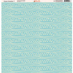 Ella and Viv Paper Company - Ocean Doodles Collection - 12 x 12 Paper - Seven