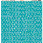 Ella and Viv Paper Company - Ocean Doodles Collection - 12 x 12 Paper - Nine