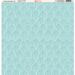 Ella and Viv Paper Company - Ocean Doodles Collection - 12 x 12 Paper - Ten