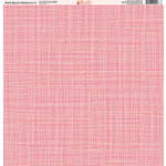Ella and Viv Paper Company - Pink Blush Patterns Collection - 12 x 12 Paper - Five