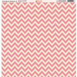 Ella and Viv Paper Company - Pink Blush Patterns Collection - 12 x 12 Paper - Six