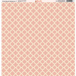 Ella and Viv Paper Company - Pink Blush Patterns Collection - 12 x 12 Paper - Seven
