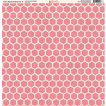 Ella and Viv Paper Company - Pink Blush Patterns Collection - 12 x 12 Paper - Nine