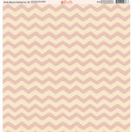 Ella and Viv Paper Company - Pink Blush Patterns Collection - 12 x 12 Paper - Twelve