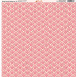 Ella and Viv Paper Company - Pink Blush Patterns Collection - 12 x 12 Paper - Thirteen