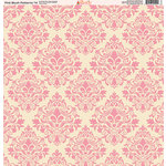 Ella and Viv Paper Company - Pink Blush Patterns Collection - 12 x 12 Paper - Fourteen