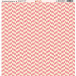 Ella and Viv Paper Company - Pink Blush Patterns Collection - 12 x 12 Paper - Sixteen