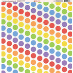 Ella and Viv Paper Company - Rainbow Connection Collection - 12 x 12 Paper - Two
