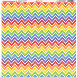 Ella and Viv Paper Company - Rainbow Connection Collection - 12 x 12 Paper - Nine