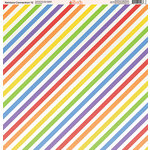 Ella and Viv Paper Company - Rainbow Connection Collection - 12 x 12 Paper - Twelve
