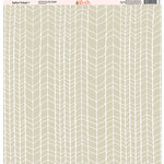Ella and Viv Paper Company - Safari Tribal Collection - 12 x 12 Paper - One