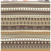 Ella and Viv Paper Company - Safari Tribal Collection - 12 x 12 Paper - Seven
