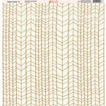 Ella and Viv Paper Company - Safari Tribal Collection - 12 x 12 Paper - Eleven