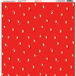 Ella and Viv Paper Company - Strawberry Fields Collection - 12 x 12 Paper - Seven