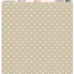 Ella and Viv Paper Company - Sunshine Damask Collection - 12 x 12 Paper - Five