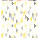 Ella and Viv Paper Company - Sunshine Patterns Collection - 12 x 12 Paper - One