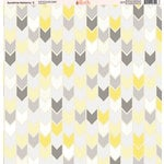 Ella and Viv Paper Company - Sunshine Patterns Collection - 12 x 12 Paper - Two