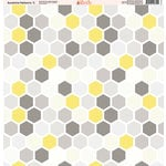 Ella and Viv Paper Company - Sunshine Patterns Collection - 12 x 12 Paper - Five
