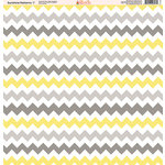 Ella and Viv Paper Company - Sunshine Patterns Collection - 12 x 12 Paper - Seven