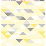 Ella and Viv Paper Company - Sunshine Patterns Collection - 12 x 12 Paper - Eight