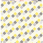 Ella and Viv Paper Company - Sunshine Patterns Collection - 12 x 12 Paper - Nine