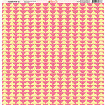 Ella and Viv Paper Company - Tickled Pink Patterns Collection - 12 x 12 Paper - Two