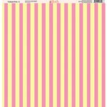 Ella and Viv Paper Company - Tickled Pink Patterns Collection - 12 x 12 Paper - Three