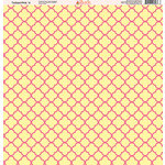 Ella and Viv Paper Company - Tickled Pink Patterns Collection - 12 x 12 Paper - Four
