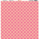 Ella and Viv Paper Company - Tickled Pink Patterns Collection - 12 x 12 Paper - Five
