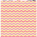 Ella and Viv Paper Company - Tickled Pink Patterns Collection - 12 x 12 Paper - Six