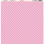 Ella and Viv Paper Company - Tickled Pink Patterns Collection - 12 x 12 Paper - Seven